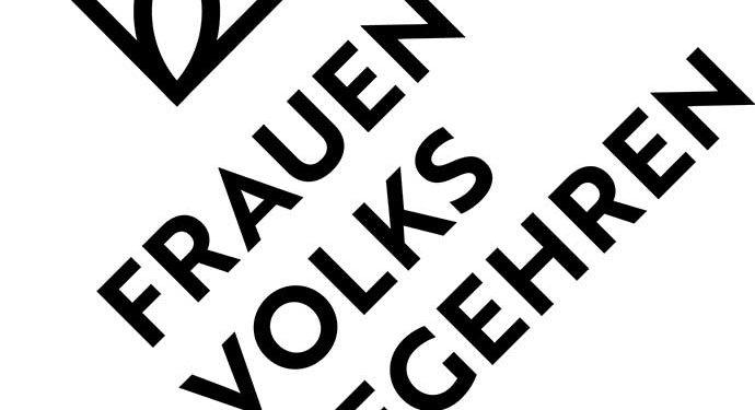 Frauenvolksbegehren 2.0 - logo