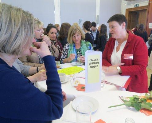 Knowledge Café im Ministerium zum Frauentag 2018